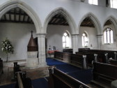 interior of St Margaret's church 2011