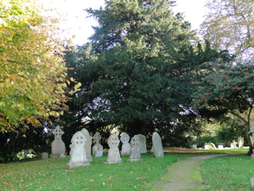 Cemetery at St Margaret's Church
