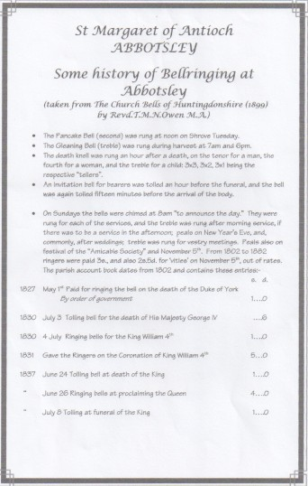 History of Bellringing