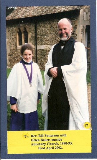 Rev.Bill Paterson 1990-1993