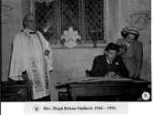 Rev. Hugh Stallard 1946-1951