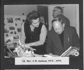 Rev. J. R. Jackson 1973-1979