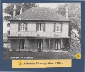 Abbotsley Vicarage 1920's