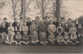 Mrs Hancock and her pupils, late 1950s
