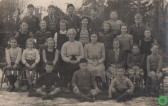 Abbotsley School Photo Circa 1950