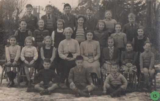 Abbotsley School Photo Circa 1950