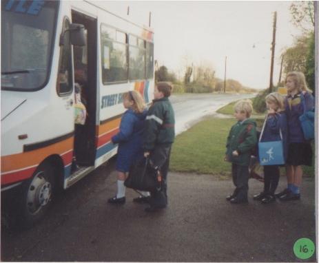 School children 1991