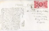 Postcard of Abbotsley School 1935