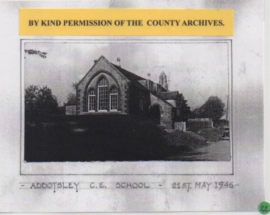 Abbotsley School May 1946