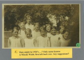 Abbotsley school children 1920's