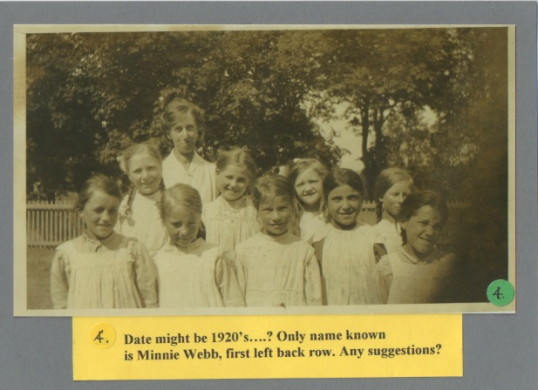 Abbotsley school children 1920's