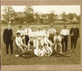 Abbotsley cricket team early 1900s