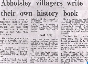 abbotsley book article