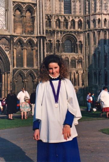 Bishop's Award 1991