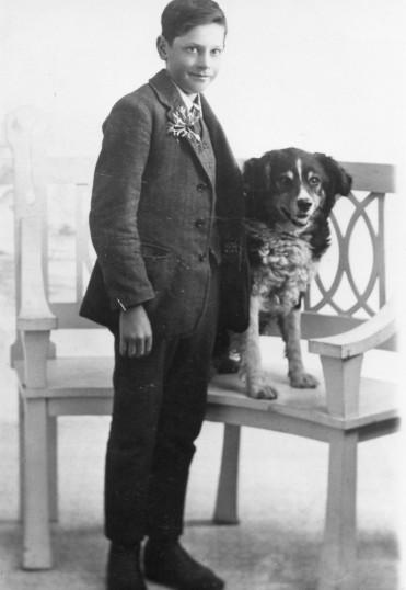 Harry Jeffs circa 1917