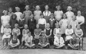 Abbotsley School about 1950