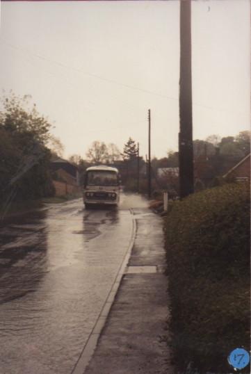 Village flood 1980's
