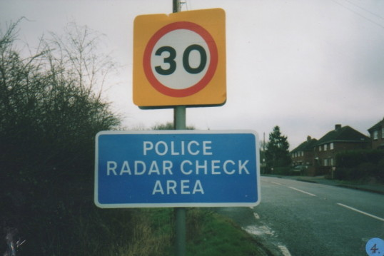 30mph limit arrives at last  in 2001