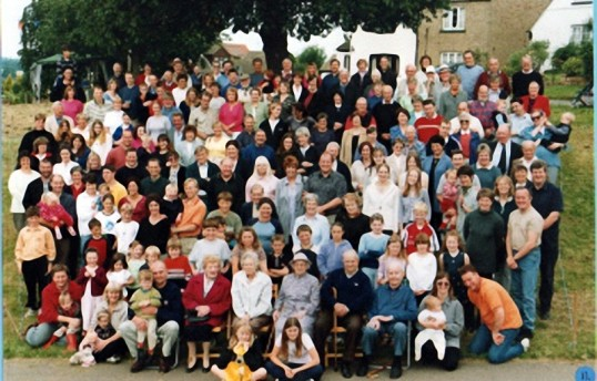 Millennium Village Photo - Who are the missing names?