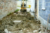 Levelling the drive