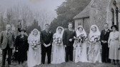 Wedding of Betty Webb and Frank Storey 1949