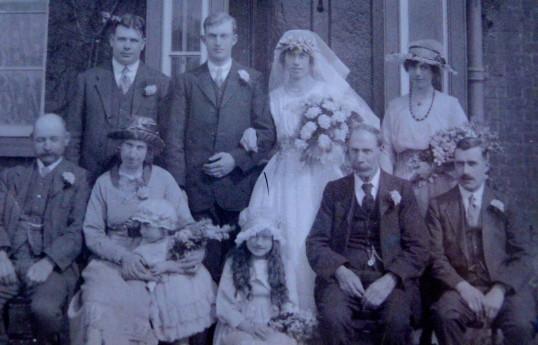 Wedding 1921