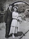 Wedding 1950s
