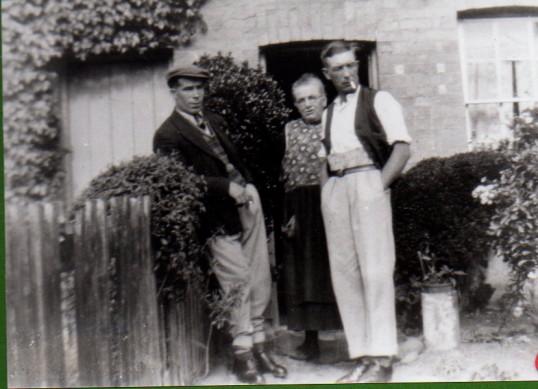 Mrs Maria Stokes with Arthur