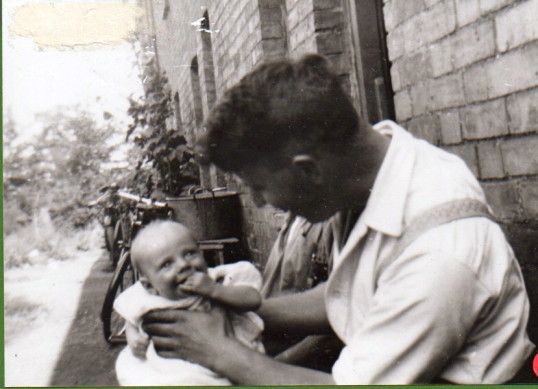 Tom Merry with his father