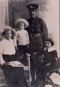 Maud and Arthur Cade with sons