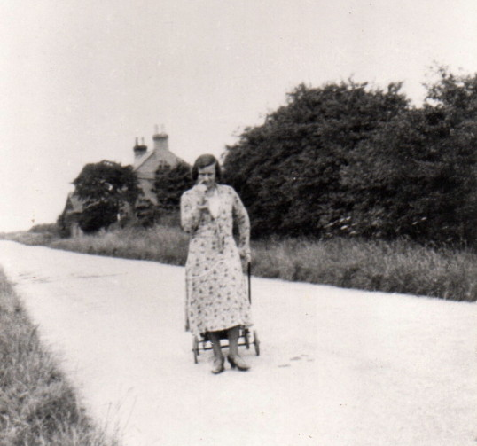 Annie Bell along the St Neots Road