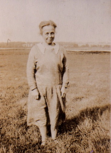 Janet Webb in later years