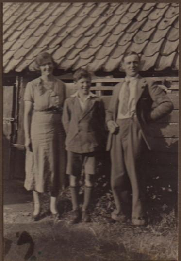 Stanley, Doris and Gerald Wisson