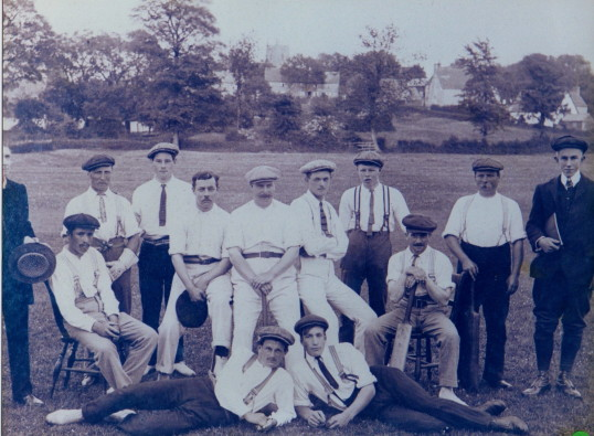 cricket team early 1900s