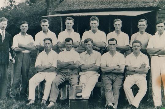 Cricket team circa 1930