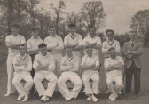 Cricket team 1957