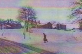 Snow on the green 1969