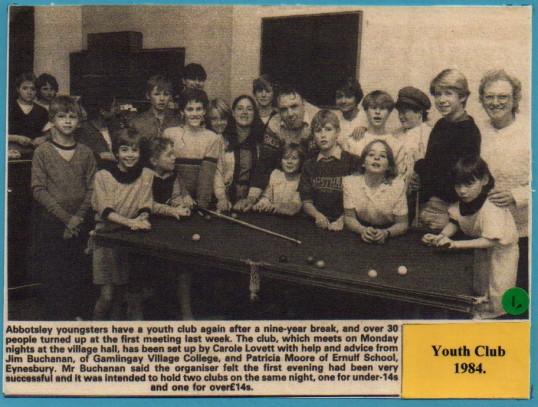 Youth Club 1984