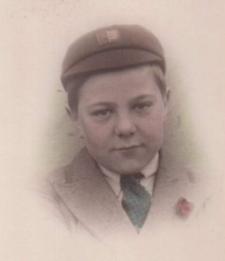 John Webb as a child