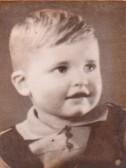 Vernon Clarke as a child