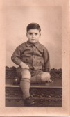 David as a child