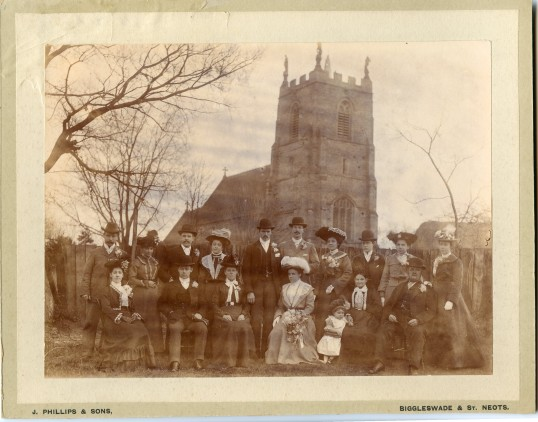 Wedding of Elizabeth Cade and James Haylock 1902