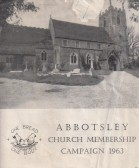 Abbotsley Church Membership Campaign 1963