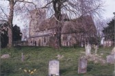 Views of St Margaret's church Abbotsley