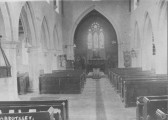 Interior views of Abbotsley Church