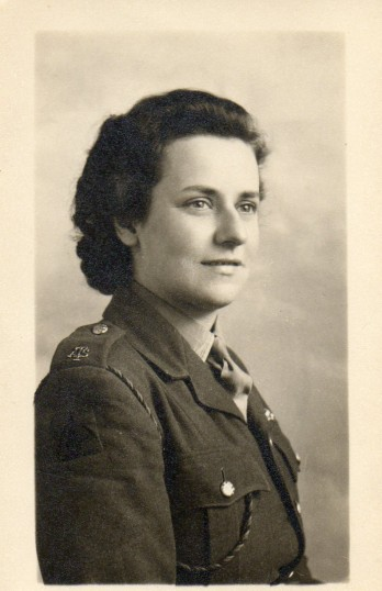 Annie Storey  circa 1943-45