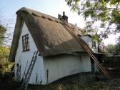 Thatchers at Church Farm Cottage