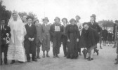Burrough Green - Villagers help the war effort, fund raising during war weapons week.  It might have been