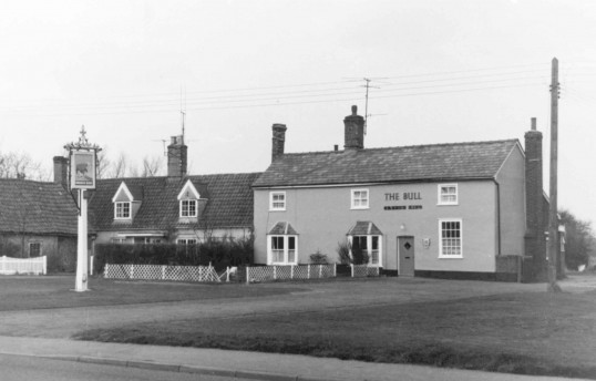 Burrough Green-The Bull Public House