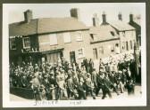 Chatteris Jubilee Celebrations 1935. Corner of High Street/ New Road.